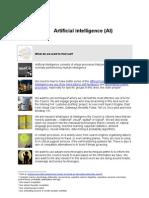 Artificial Intelligence v1