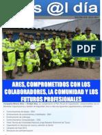 BOLETÍN N°6 ARES, COMPROMETIDOS CON LOS COLABORADORES, LA COMUNIDAD Y LOS FUTUROS PROFESIONALES