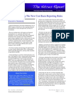 Kitces Report December 2011 - Understanding the New Cost Basis Reporting Rules