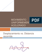 2.1 Movimiento Uniformemente Acelerado(1)