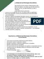 Importancia Utilidad Etimos FMM 2012 2013
