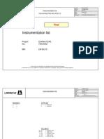 E 7403-9005f Instrumentation List Customer