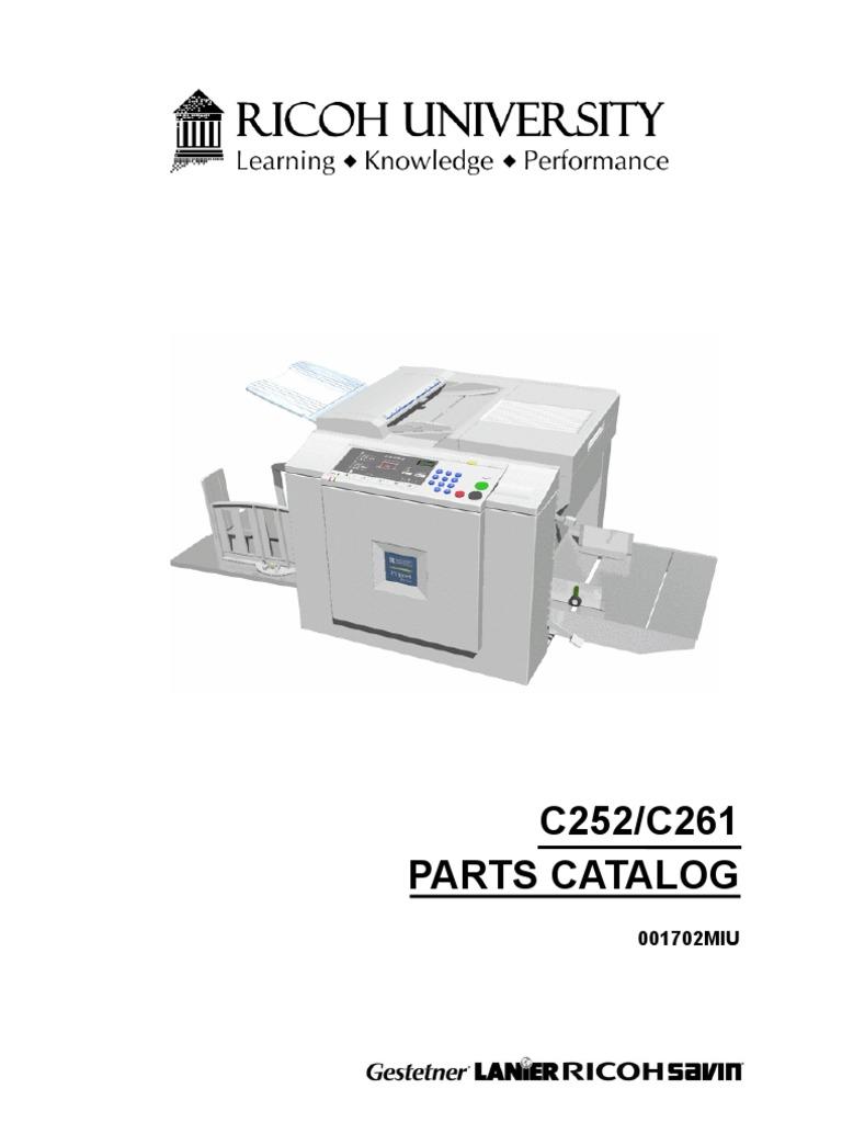 manual de partes duplicador jp730 jp735 rh scribd com ricoh priport jp 1210 service manual Ricoh Service Exellence