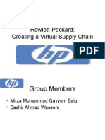 Hewlett-Packard final ppt