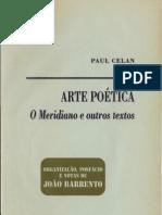 150856253 CELAN Paul Arte Poetica O Meridiano e Outros Textos PDF