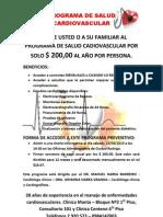 Programa de Salud Cardiovascular Dr Narea