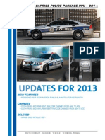 2013 Municipal Guide Caprice for police cars