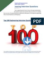 Top 100 Engineering Interview Questions