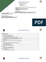 PLANIFICACIÓN CLASE A CLASE matematicas (2 semestre)