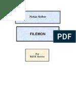 Notas Sobre Filemon (2003, 2004)