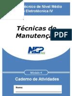 ELETRO IV- TÉCNICAS DE MANUTENÇÃO - ALUNO - 2º SEM 2013