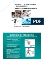ORIENTACIONES PLANIFICACIÓN EJERCICIO FÍSICO_SISTEMAS Y MÉTODOS DE ENTRENAMIENTO