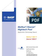 Superplastificante HightechPool Melflux-Starvis e