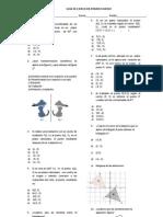 Guía de estudio Transformaciones isométricas