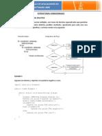 Estructuras Condicionales Multiples