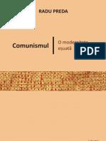 Preda-radu 2009 Comunismul