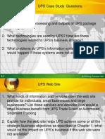 UPS Case Solution