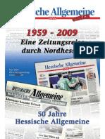 50 Jahre Hessische Allgemeine - Eine Zeitungsreise durch Nordhessen