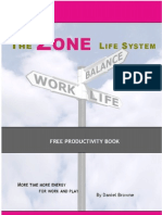 How to obtain stress free productivity and energy - based on the Zone Life System