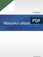 Manual Utilizare GT-S6310