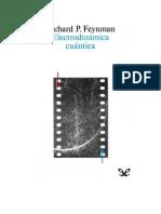 Feynman Richard - Electrodinamica Cuantica