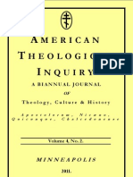 American Theological Inquiry