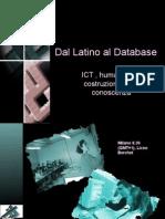 Dal Latino Al Database