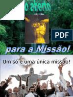 Coração aberto para a missão