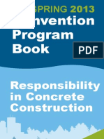 ACI S13 Convention Program Book
