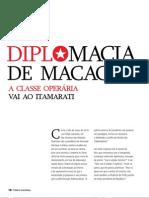 2013-LOPES D-Diplomacia de macacão
