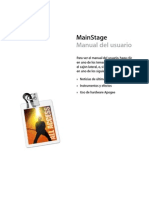 Manual Del Usuario de MainStage