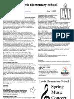 Meriwether Lewis Elementary School Weekly Letter