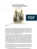 MURILO de CARVALHO. El Imaginario de La Republica en Brasil