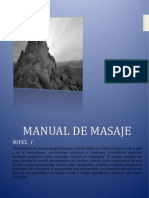 Manual de Masaje Nivel i