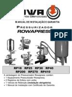 Pressurizador Rowa