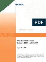 Amélioration du Climat des Affaires au Maroc. Plan d'action annuel Octobre 2008 – juillet 2009