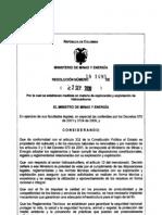 Resolucion 18 1495 Del 2 de Septiembre de 2009