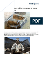 2013 07 Archaeological Tel Hazor Sphinx Fragment