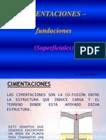 2.7 Cimentaciones Superficiales