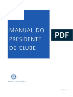 Manual Do Presidente de Rotary