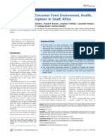 ''Big Food,'' the Consumer Food Environment, Health, and the Policy response in South Africa