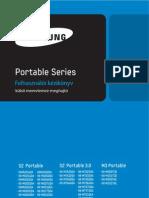 Portable Series User Manual HU