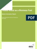 Wastewood Biomass