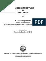 SYL ICE or EI & CE Syllabus 2012-13 Iter2011-14