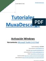 Tutorial 4 - Activación Windows con Microsoft Toolkit 2.4.5 Final