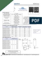 NIC Components NEXM Series