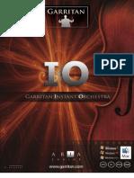 Garritan Instant Orchestra Manual