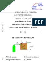 Cromatografo de Gas A