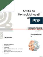 Artritis en hemoglobinopatías IAVM 2013