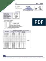 NIC Components NPI_L